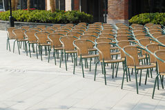 Many chairs Royalty Free Stock Photos