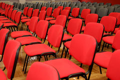 Many chairs Stock Photo