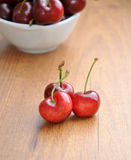 Many cherries Stock Photography