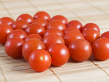 Many cherry tomatoes Royalty Free Stock Images