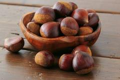 Many chestnut Royalty Free Stock Photos