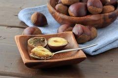 Many chestnut Stock Photo
