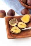 Many chestnut Royalty Free Stock Images