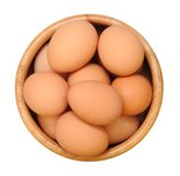 Many chicken eggs Royalty Free Stock Photography