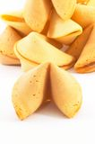 Many Chinese fortune cookie one stand out stock photos