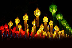 Many chinese lanterns Stock Photography