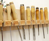 Many chisels Stock Photography