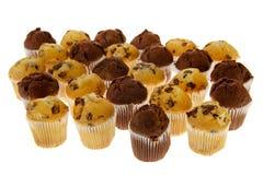Many chocolate muffins Stock Photo