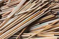 Many chopstick Stock Image