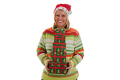 Many christmas gifts Royalty Free Stock Photo