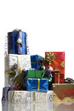 Many christmas gifts Stock Photo