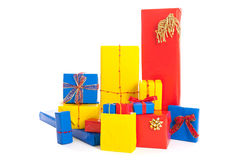 Many Christmas gifts Royalty Free Stock Photography