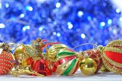 Many christmas ornament Stock Photography