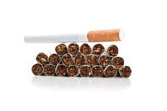 Many cigarettes Royalty Free Stock Image