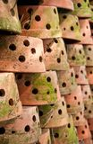 Many Clay Pots Royalty Free Stock Photos