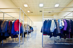 Many clothes Royalty Free Stock Image