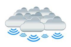 Many Cloud Royalty Free Stock Photo