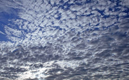 Many clouds in the sky Royalty Free Stock Images