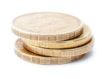 Many coins Stock Image