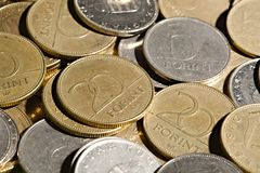 Many Coins Royalty Free Stock Images