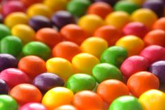 Many color candy Stock Image