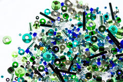 Many-colored beads Stock Photography