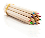 Many Colored Pencils Royalty Free Stock Photo