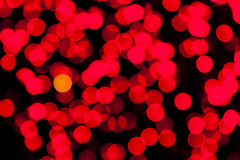 Many colorful abstract spots of light Stock Images