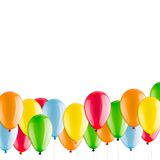 Many colorful balloons Royalty Free Stock Image