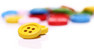 Many colorful buttons Royalty Free Stock Photos