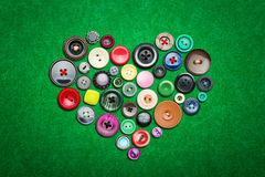 Many colorful buttons Royalty Free Stock Photo