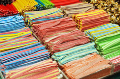 Many colorful candies Stock Photo