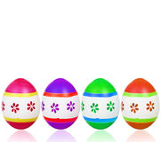 Many colorful easter eggs Royalty Free Stock Photography