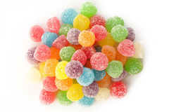 Many colorful gummy candy Royalty Free Stock Photos