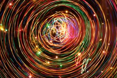 Many colorful lines abstraction. Royalty Free Stock Images