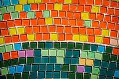 Many colorful mosaic Royalty Free Stock Images