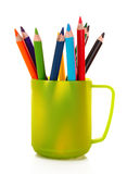 Many colorful pencil Stock Image