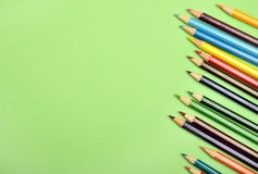 Many colorful pencil Stock Images