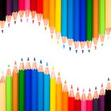 Many colorful pens Royalty Free Stock Photos