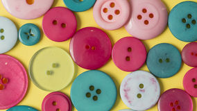 Many colorful sewing buttons texture background Royalty Free Stock Image