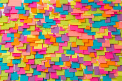 Many of colorful stickers abstract background Stock Image