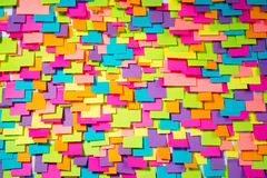 Many of colorful stickers abstract background Stock Images