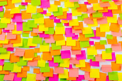 Many of colorful stickers background Stock Photo