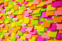 Many of colorful stickers background Stock Photography
