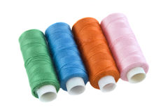 Many colorful threads Stock Photo