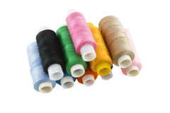 Many colorful threads Stock Photography