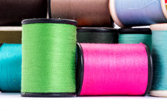 Many colorful threads Royalty Free Stock Photos