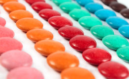 Many colors of sweet candies Royalty Free Stock Image