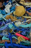 The many colors wool clews Royalty Free Stock Image