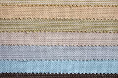 Many colour fabric Royalty Free Stock Images